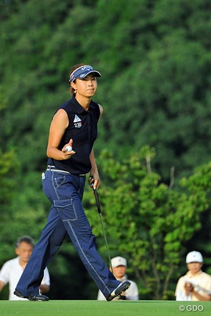 2013年 日医工女子オープンゴルフトーナメント 最終日 下村真由美 惜しくも1打及ばず初優勝を逃したが、プロ10年目の下村の奮闘はまだまだ続く