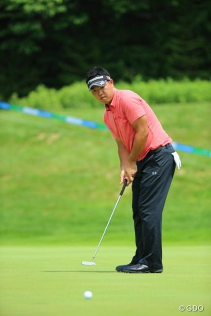 2013年 長嶋茂雄 INVITATIONAL セガサミーカップゴルフトーナメント 最終日 薗田峻輔 ミスらしいミスは4日間を通じて70ホール目以降くらい。薗田峻輔が独走で今季初勝利を手にした。
