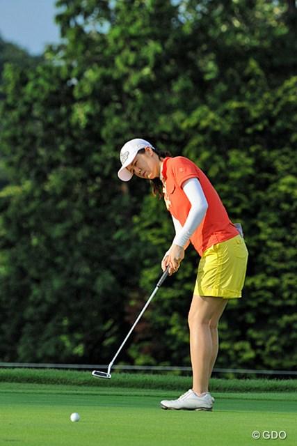 2013年 日医工女子オープンゴルフトーナメント 最終日 ヤング・キム 中断続きとなった一戦を制したヤング・キム