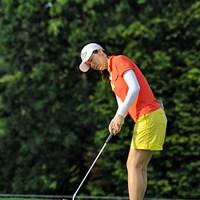 中断続きとなった一戦を制したヤング・キム 2013年 日医工女子オープンゴルフトーナメント 最終日 ヤング・キム