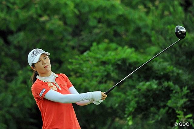 米女子ツアー優勝経験のあるヤング・キム。日本ツアーでは初勝利だった。