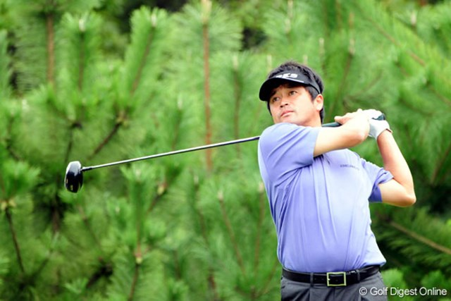 ノーボギーと手堅いゴルフで首位タイに浮上した横田真一