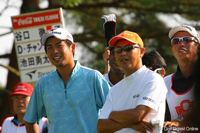 大先輩の谷口徹と肩を並べるプロ1年目の池田勇太