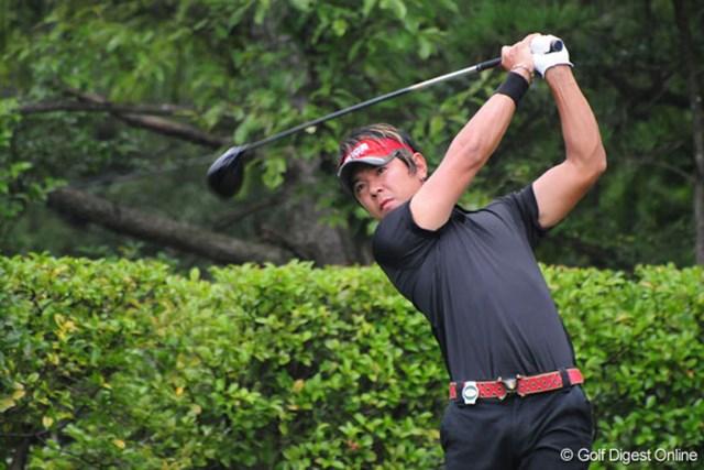3バーディ、2ボギー、我慢のゴルフで4位タイの矢野東