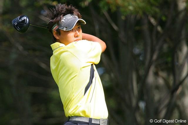 太田直己 3位タイに浮上した太田直己。明日は最終日最終組でのプレーとなる