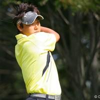 3位タイに浮上した太田直己。明日は最終日最終組でのプレーとなる 太田直己
