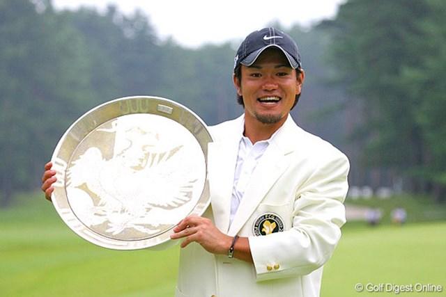 自身2度目のプレーオフで、見事にツアー初優勝を飾った藤島豊和