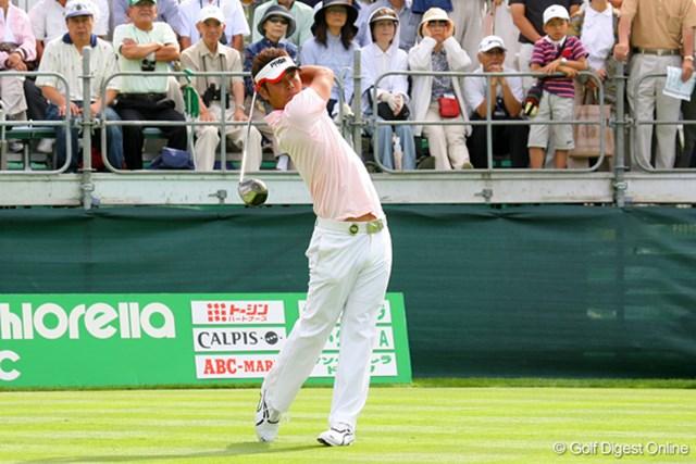 谷原秀人 石川遼と同組でラウンドした谷原秀人は、2アンダーの3位タイ