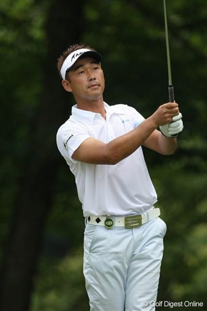最終日も淡々とゴルフをした久保谷健一は4位タイフィニッシュ
