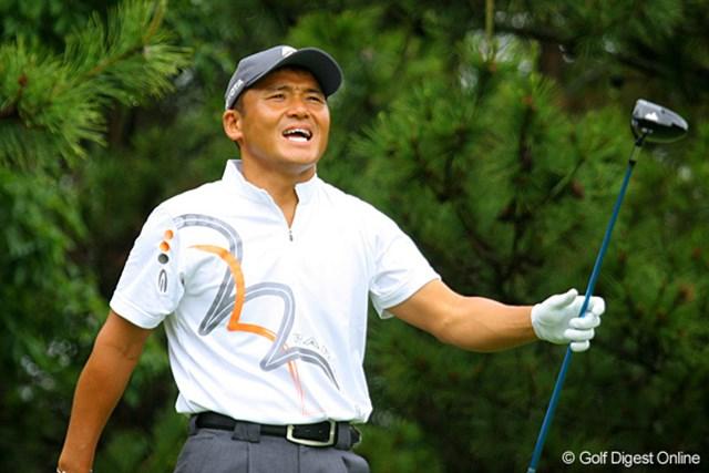 今年初の日本ツアー参戦となった丸山茂樹。118位タイと大きく出遅れた
