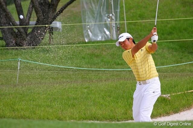 前粟蔵俊太 18歳の前粟蔵俊太が、通算2アンダーの5位タイに浮上した