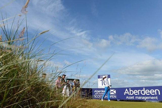 開幕を控え、開催コースであるキャッスルスチュアートゴルフリンクスの準備は整った。(Getty Images)