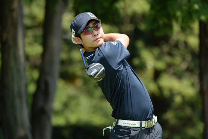 36ホールのストロークプレーを終えて、メダリストに輝いたイ・スミン (画像提供/JGA) 2013年 日本アマチュアゴルフ選手権 2日目 イ・スミン