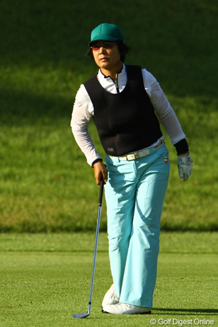 2010年の日本女子プロゴルフ選手権に出場した際の具玉姫。