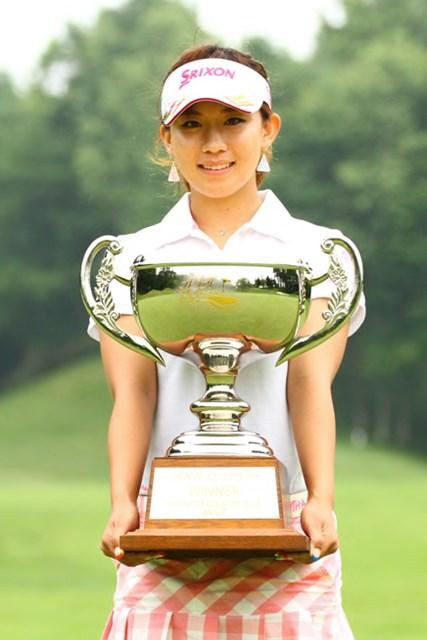 2013年 ANA PRINCESS CUP 最終日 香妻琴乃 4打差からの逆転でプロ初勝利を手にした香妻琴乃 ※画像提供:日本女子プロゴルフ協会