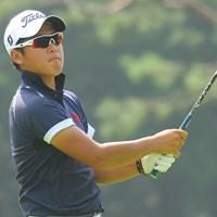 終盤、杉山知靖に5連続で奪われて敗戦してしまった佐藤大平 2013年 日本アマチュアゴルフ選手権 4日目 佐藤大平
