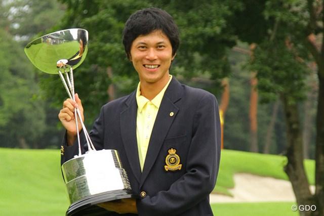 9&8と圧勝で日本アマチュア界ナンバー1の座を掴んだ大堀裕次郎
