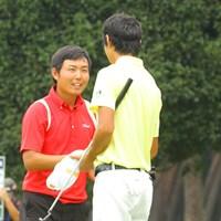 愛嬌もあり礼儀正しい好青年は残念ながら決勝戦で敗退してしまった 2013年 日本アマチュアゴルフ選手権 最終日 杉山知靖