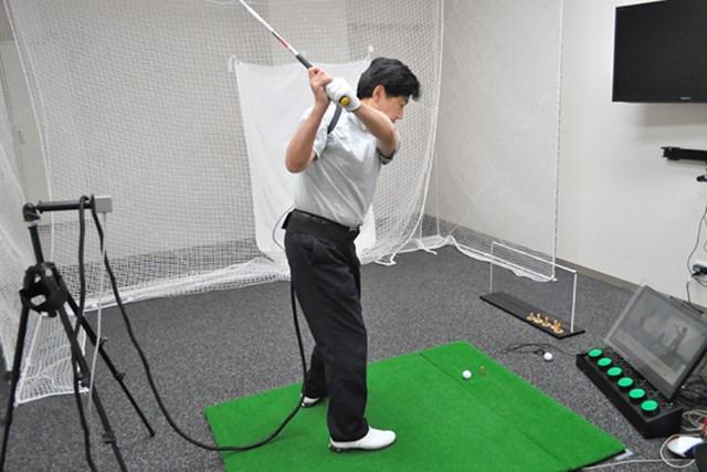 golftec アドレスの意識で肩の回転が変わる! 1-1