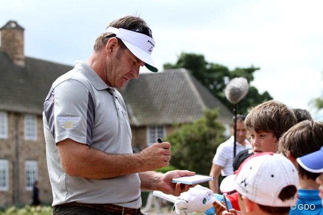 2013年 全英オープン 事前 ニック・ファルド ニック・ファルドも過去2回、ここミュアフィールドでクラレットジャグを獲得している。