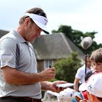 ニック・ファルドも過去2回、ここミュアフィールドでクラレットジャグを獲得している。 2013年 全英オープン 事前 ニック・ファルド