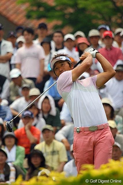 7番パー3でホールインワンを達成した宮本勝昌!「やりました!うれしいね」