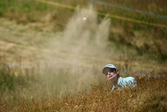 2013年 全英オープン 事前 ジャスティン・ローズ 全米OPに続き、全英でメジャー2連勝を狙うジャスティン・ローズ(Getty Images)