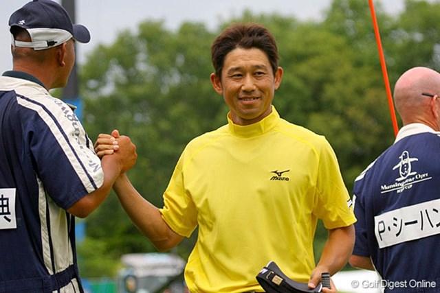 桑原克典 1イーグル6バーディの「64」。完璧なゴルフで2位タイに入った桑原克典