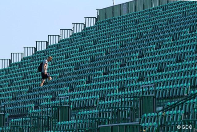 2013年 全英オープン 2日目 階段