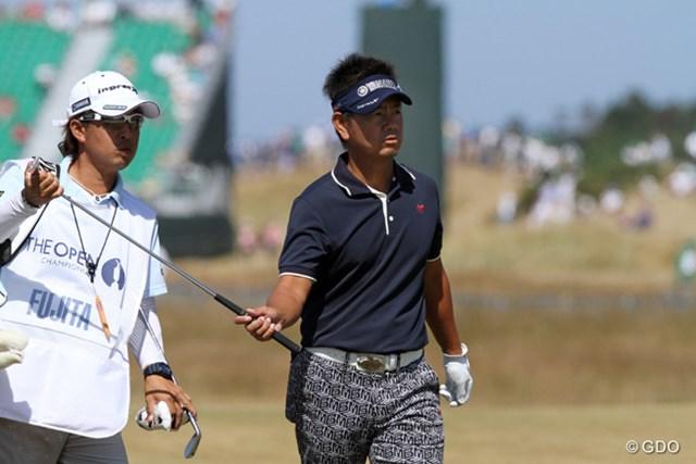 無念・・・初日の出遅れが響き、藤田さんは決勝ラウンド進出を逃しました。