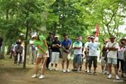 2013年 サマンサタバサ ガールズコレクション・レディーストーナメント 最終日 堀奈津佳