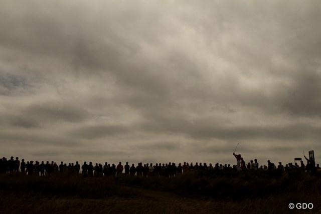 2013年 全英オープン 最終日 曇り空