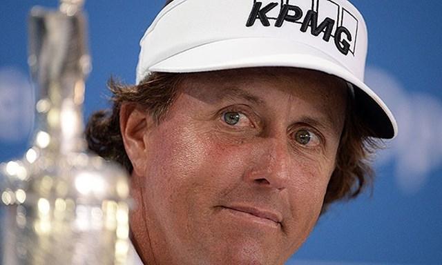 全英オープンのタイトルを奪取したフィル・ミケルソン。全米オープンでグランドスラム達成となるか(Getty Images)