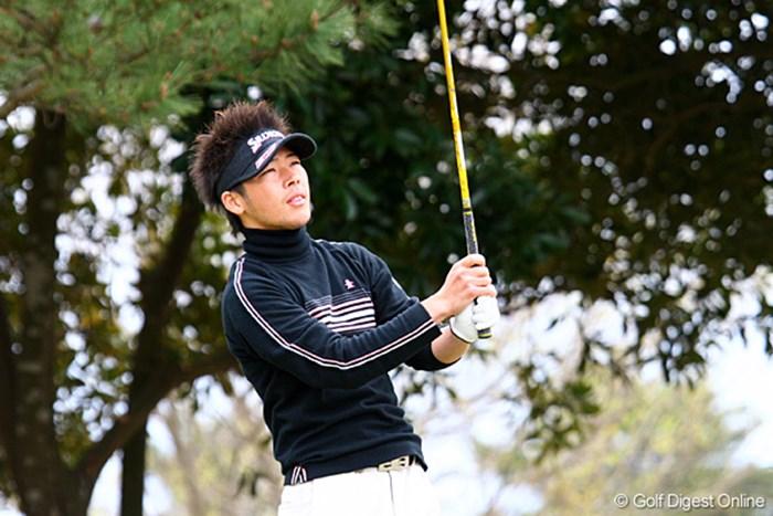 中嶋常幸を父に持つ中島雅生が4位タイの好発進!※画像はG-ONEオープン時 中島雅生