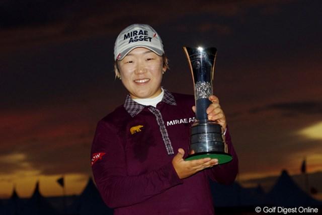 2013年 全英リコー女子オープン 事前情報 申智愛 昨年は申智愛が9打差をつける圧勝。6年ぶりとなるゴルフの聖地で勝利の女神が微笑むのは果たして?