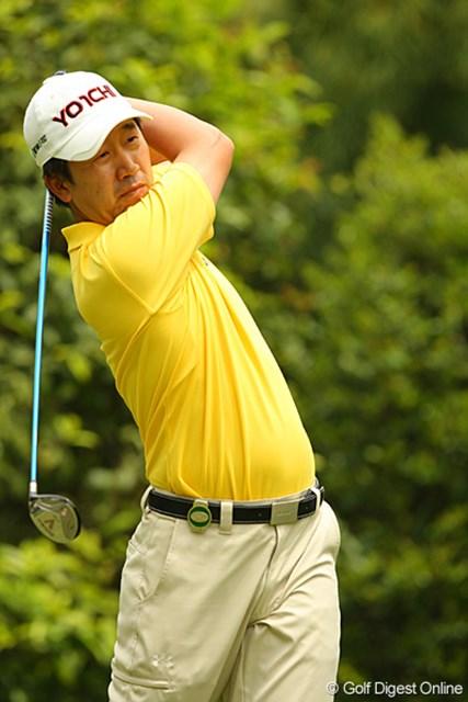 安定したゴルフで2週連続優勝を狙う韓国のS.K.ホ