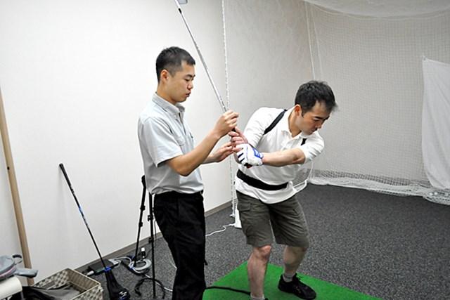golftec 悪い腕の使い方をリセット! 1-1