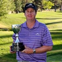 ポイント争いの攻撃的なゴルフで大会連覇を狙うJ.J.ヘンリー(Stephen Dunn /Getty Images) 2013年 リノタホオープン 事前 J.J.ヘンリー