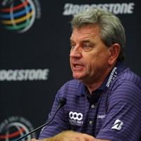 プレジデンツカップ世界選抜の主将を務めるニック・プライス。4連敗中の流れを止められるか 2013年 WGCブリヂストンインビテーショナル 事前 ニック・プライス