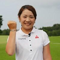 最終日に4アンダーでラウンドしぎりぎり合格を果たした土田沙弥香 2013年 LPGAプロテスト 最終日 土田沙弥香