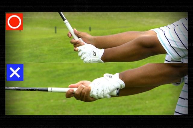 ゴルフクラブの取扱説明書 Vol.1 ヘッドは重くて開きやすい! 4P