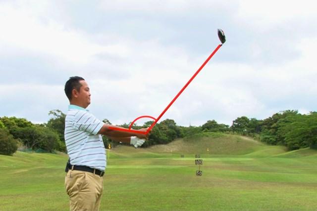 ゴルフクラブの取扱説明書 Vol.1 ヘッドは重くて開きやすい! 5P