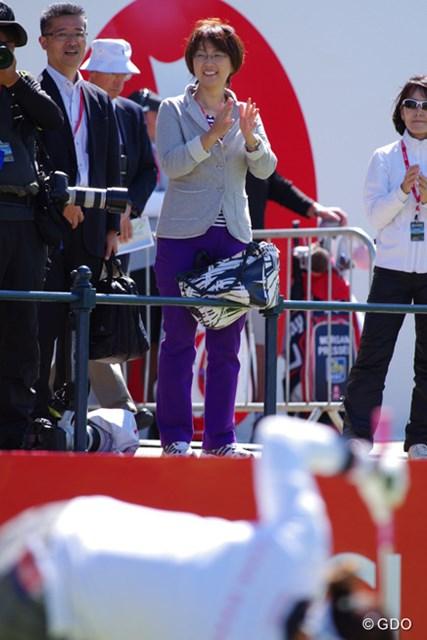 今日まで試合を現地で観戦。スタートする日本人選手に拍手を送った