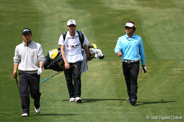 片山晋呉はイーブンパーの32位タイと出遅れた。