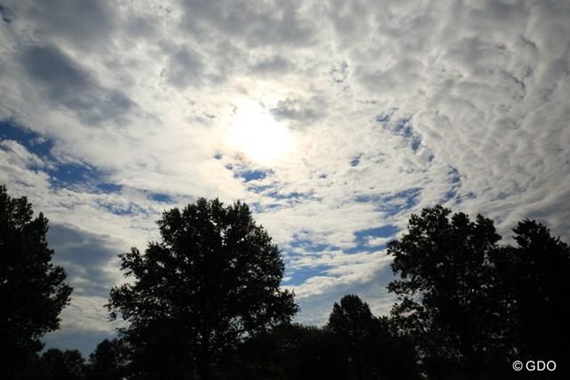アメリカの空は広い。