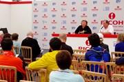 2013年 全英リコー女子オープン 3日目 記者会見