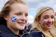 2013年 全英リコー女子オープン 3日目 フェースペイント