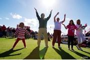 2013年 全英リコー女子オープン 3日目 ライブを楽しむギャラリー