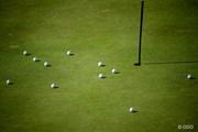 2013年 全英リコー女子オープン 3日目 練習ボール