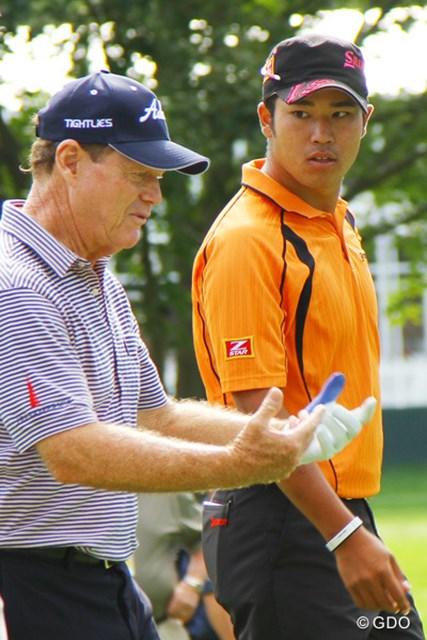 2013年 全米プロゴルフ選手権 事前 トム・ワトソン 松山英樹 T.ワトソンも松山の可能性に太鼓判。「彼は今週もきっとうまくプレーできるはずだ」